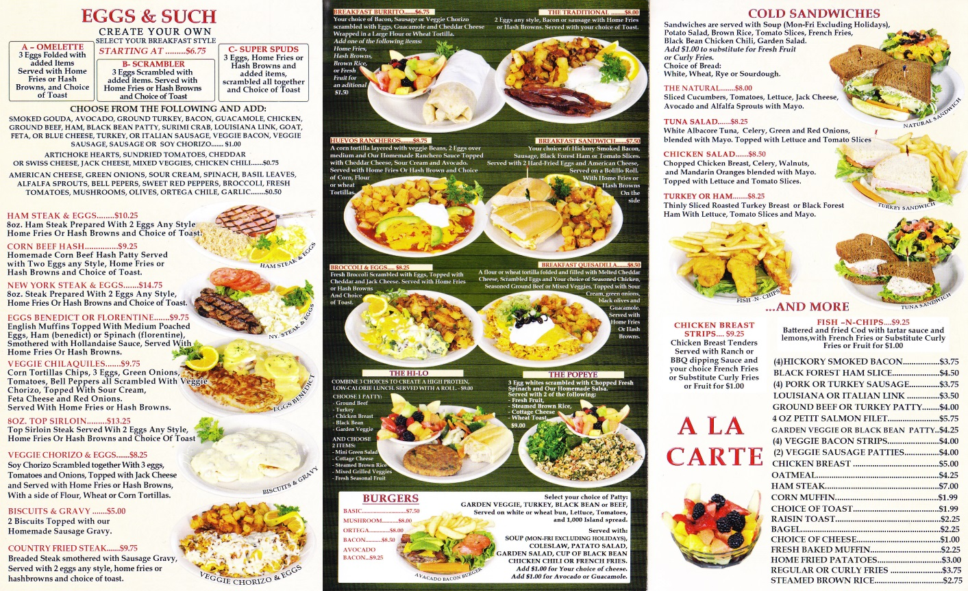 Omelette Inn Long Beach Ca Menu