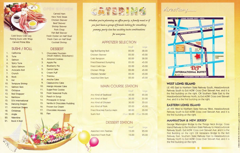 Dj 39 S International Buffet Garden City Ny 11530