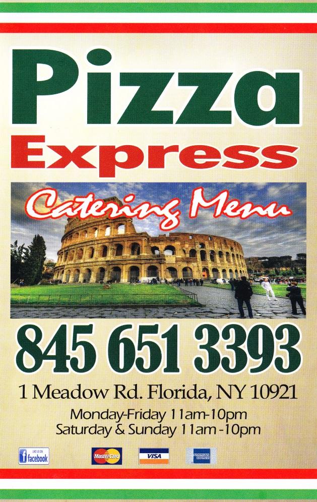 pizza express florida ny 10921. Black Bedroom Furniture Sets. Home Design Ideas