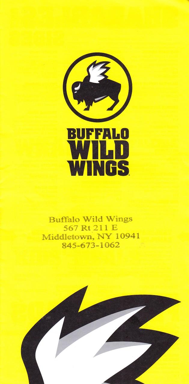 whereisthemenu | buffalo wild wings - middletown, ny 10941