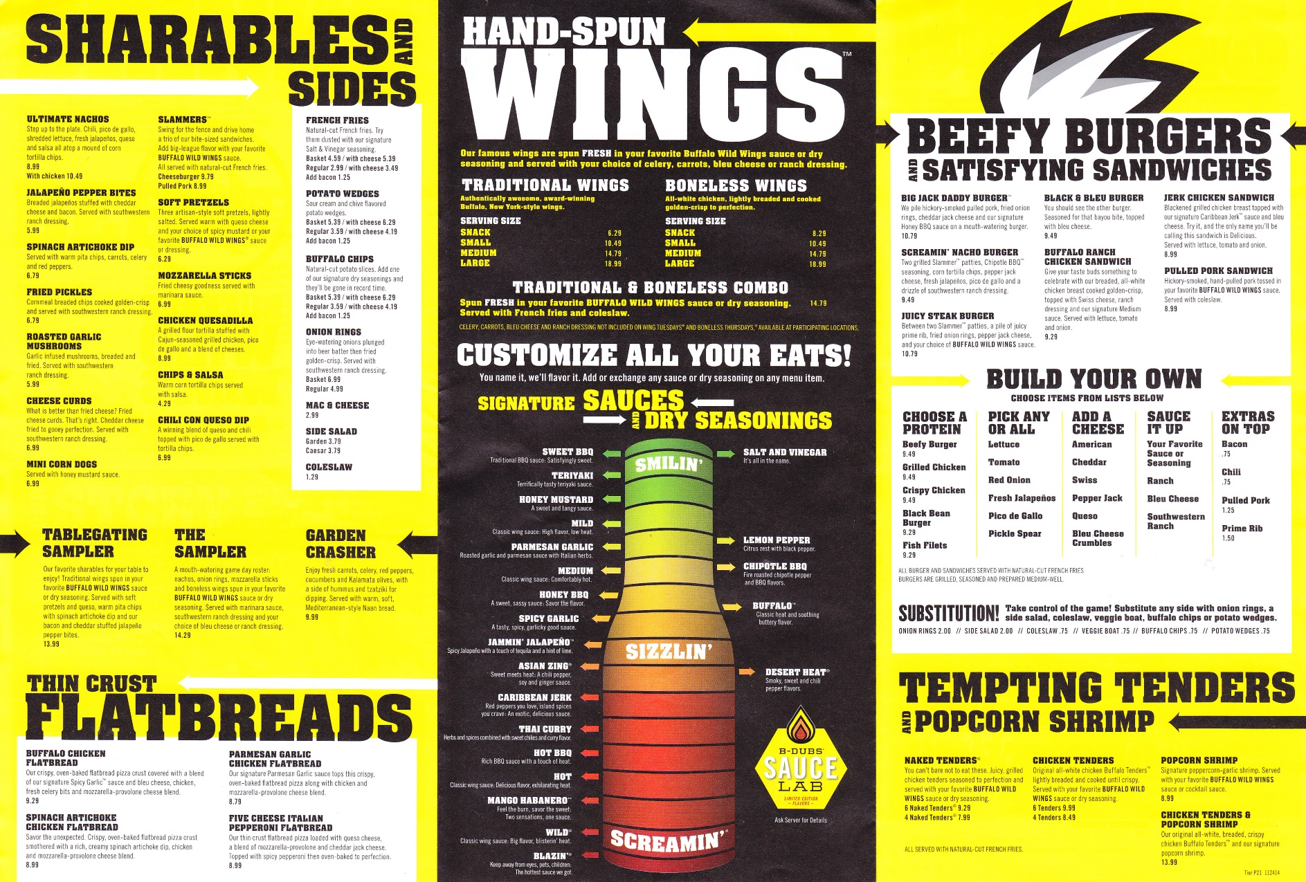 photo about Buffalo Wild Wings Printable Menu identified as Just take Out: Buffalo Wild Wings Consider Out Menu